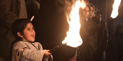 (Manifestación mapuche - Eduardo Chamorro )/ Licencia CC